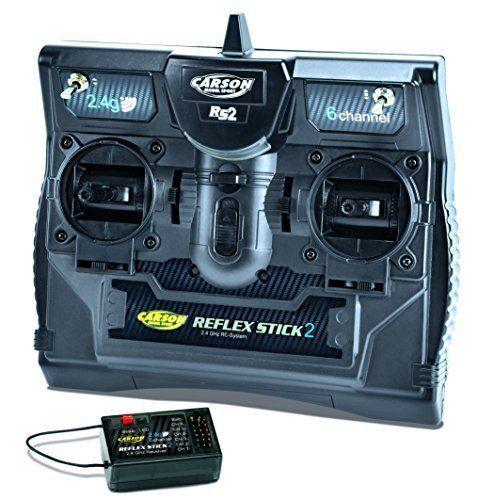 Reflex II 2.4 GHz 6 Ch. with Rx - Radio RC Accessory - Carson C501006
