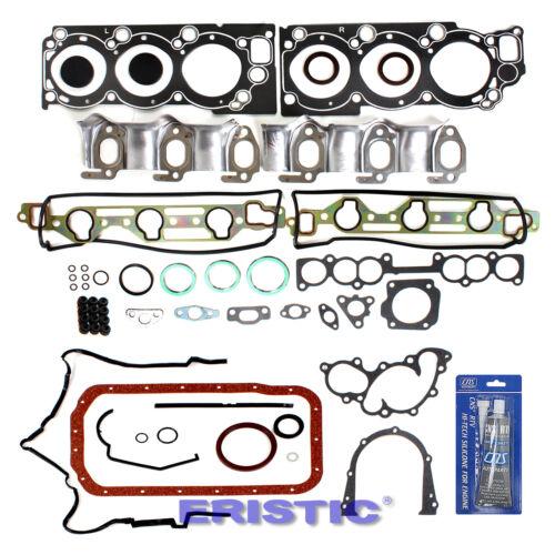 1988-95 3.0L Toyota PICKUP 4RUNNER T100 Engine FULL GASKET SET 3VZE New
