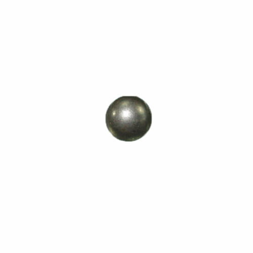 "1//4/"" Round Spots Gunmetal 100 Pack"
