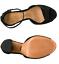 NIB SCHUTZ Odesa Sandal block heel black nubuck 6.5 7.5