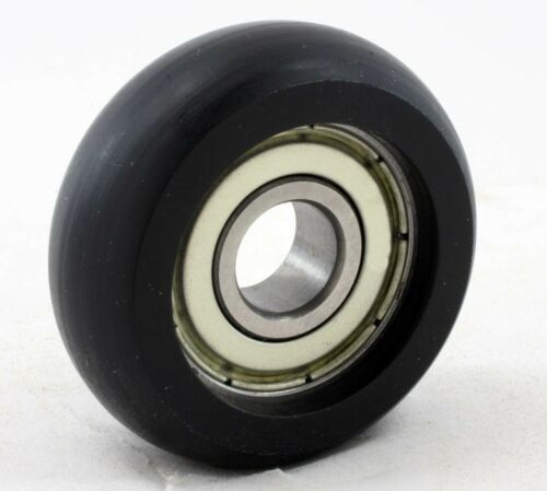 6mm Bore Ball Bearing with Outer Diameter 35mm Plastic Tire Wheel Rim OD//ID