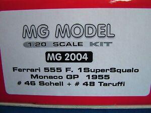 MG-MODEL-PLUS-20-04-1955-FERRARI-555-F1-1-20TH-echelle-Resine-amp-Metal-Kit