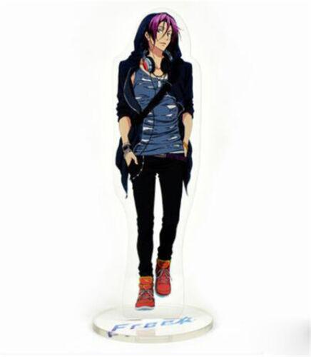 Free Dive to the Future Nanase Haruka Makoto Rin Hazuki Acrylic Stand Figure