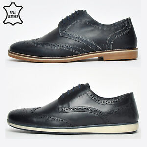 red tape finest leather mens brogues formal casual smart