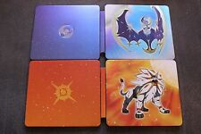 Pokemon Sun and Moon Fan Edition Limited Steelbooks BRAND NEW !!!! RARE