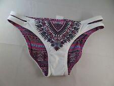 NWT Lucky Brand Reversible Bikini Bottoms Sz Small Scrunch bum Sexy Hot hipster