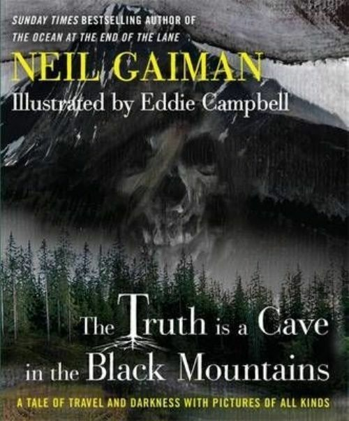 The Truth Is a Cave in the Black Mountains-ExLibrary