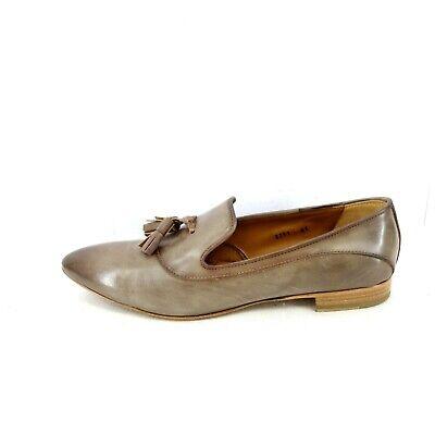 Antonio Maurizi Damen Schuhe Loafer Slipper Ballerinas Braun Leder Np 285 Neu | eBay