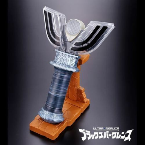 Bandai Premium ULTRAMAN The final ODYSSEY Tiga Ultra Replica Nero LENS SPARK