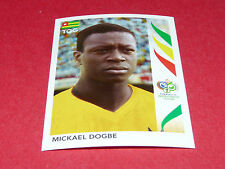 528 MICKAEL DOGBE TOGO PANINI FOOTBALL GERMANY 2006 WM FIFA WORLD