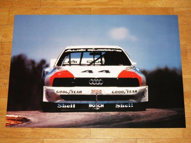 Orignal Haywood Walter Röhrl Sport Quattro Audi 200 Quattro Trans Am Poster