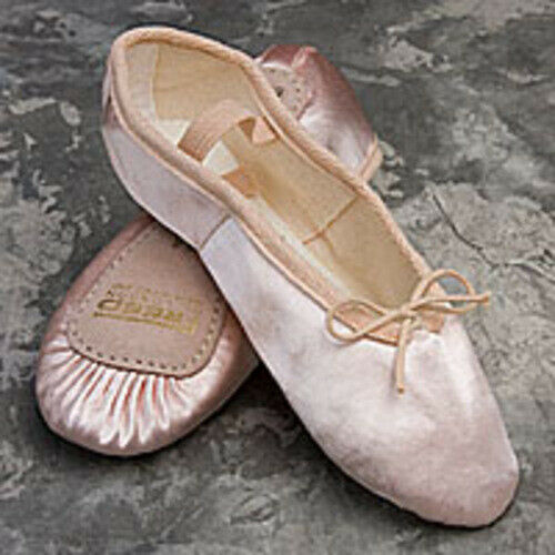 FREED OF LONDON Children's Pink Satin Aspire Ballet Shoes