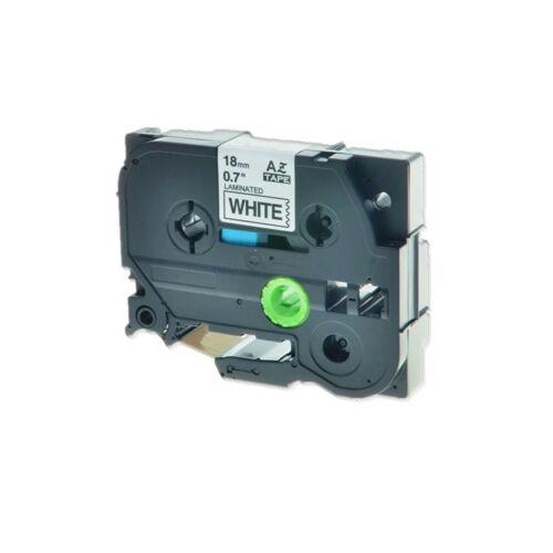 Black on White Label Tape TZ-241 TZe-241 TZ241 TZe241 18mm For Brother PT-D600
