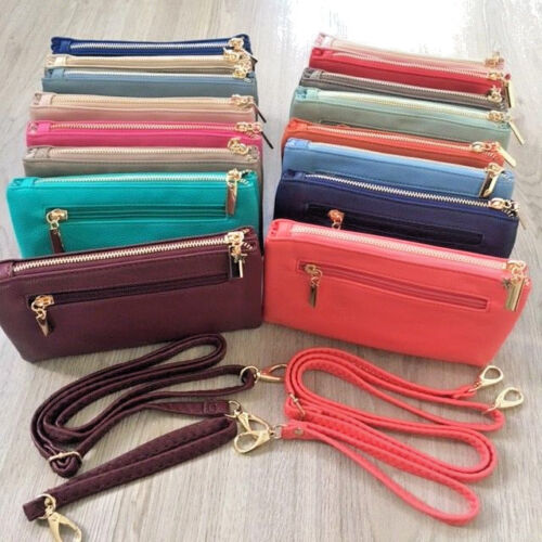 Ladies Large Long Wallet Purse Card Phone Holder Clutch Fashion Handbag Pocket