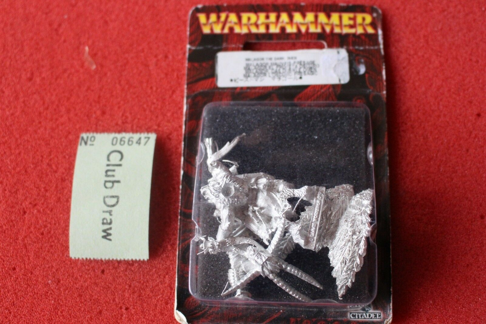 Games Workshop Warhammer Malagor the Dark Omen Beastmen BNIB Metal New GW