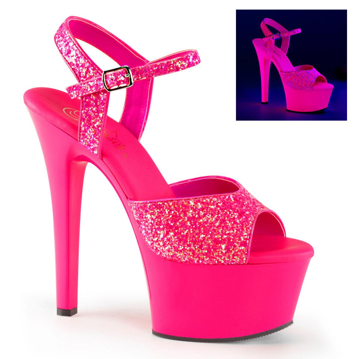 Pleaser ASPIRE-609G Exotic Dancing Platform Ankle Strap Sandale