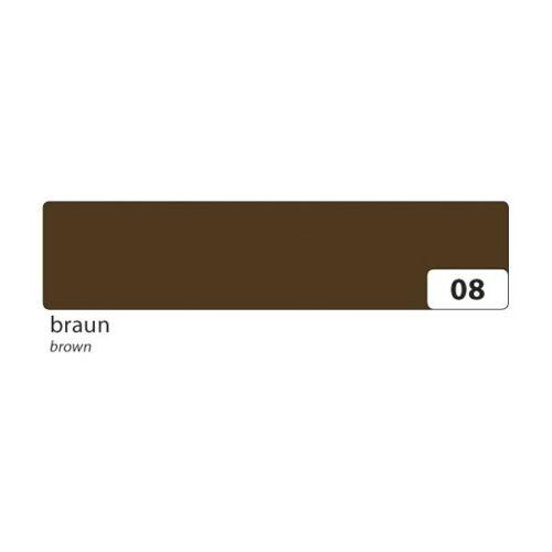 1 Rolle folia 26008 Washi-Tape braun Klebeband aus Reispapier 15mm x 10m