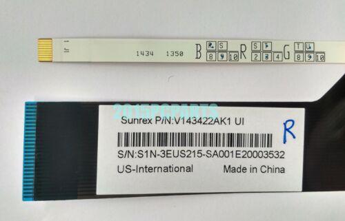 New MSI MS-16J1 MS-16J2 MS-1781 Keyboard Full Colorful Backlit US