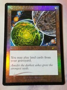1 PROMO FOIL Crucible of Worlds Artifact Judge Mtg Magic Rare 1x x1