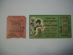 Vint Boston College Football Ticket Lot @ Fenway Park ...