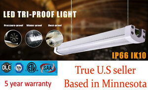 LED Utility Shop Light 4/' Ft 40-Watts Instant-On 5,500 Lumens NEW Garage Durable
