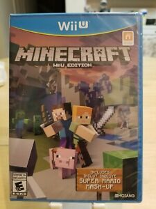 NEW Minecraft: Wii U Edition with Super Mario Mash-Up (Nintendo Wii U, 2016)
