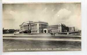 Gq694-407-Real-Photo-of-Parliament-Colombo-Ceylon-Sri-Lanka-c1940-Unused-EX