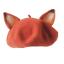 Lady-Sweet-Fox-Ear-Beret-Cap-Lolita-Vintage-Genuine-Barett-Wool-Warm-Painter-Hat thumbnail 6