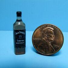 Dollhouse Miniature Replica Bottle of Jack Daniels Tennessee Whiskey ~ G105