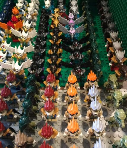 Lego Lot Of 4 Random Pick Legend Of Chima  minifigures