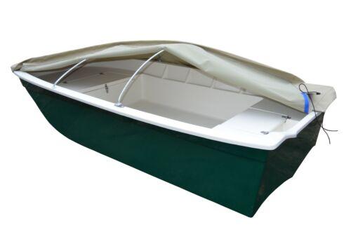 Persenning für Ruderboot Kamila 2 3,35 m x 1,22 m Mit 2 Stück Bügel