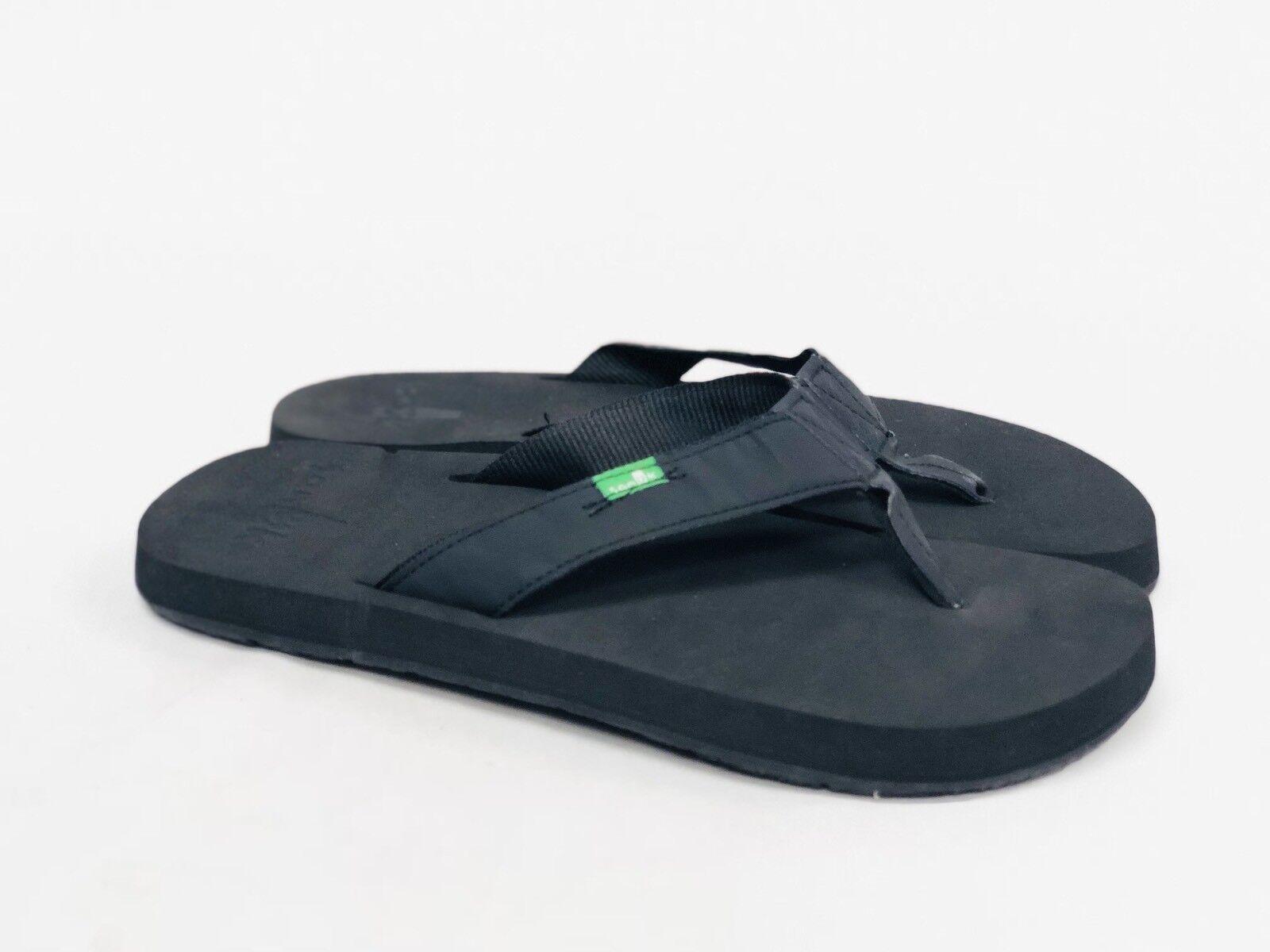 f41e2051cfaa ... Sanuk Men s LONGITUDE BLACKOUT BLACKOUT BLACKOUT Casual Flip Flop Slip  On Sandal SMF10614 YOGA MAT f4711d ...