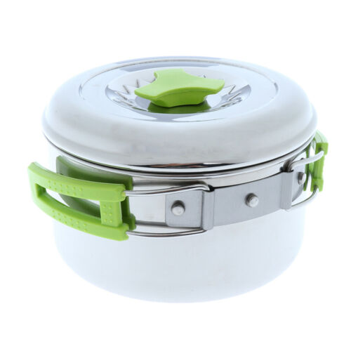 Starke faltende Topf Kochgeschirr Schüssel die kompakte Utensilien