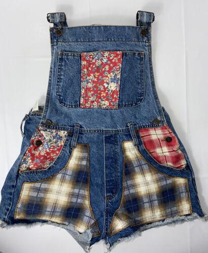 L.e.i. Girls Riding Wear Overalls Jean Shorts Juni