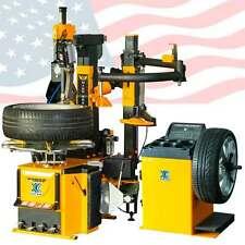 70d Tire Changer Machine Combo Wheel Balancer Rim Clamp 15 28