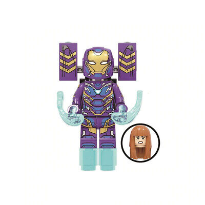 Marvel End Game Lego Moc Minifigure Toys Kids Collections Pepper Potts