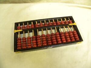 Vintage Lotus Flower Brand Abacus Made In China Ebay