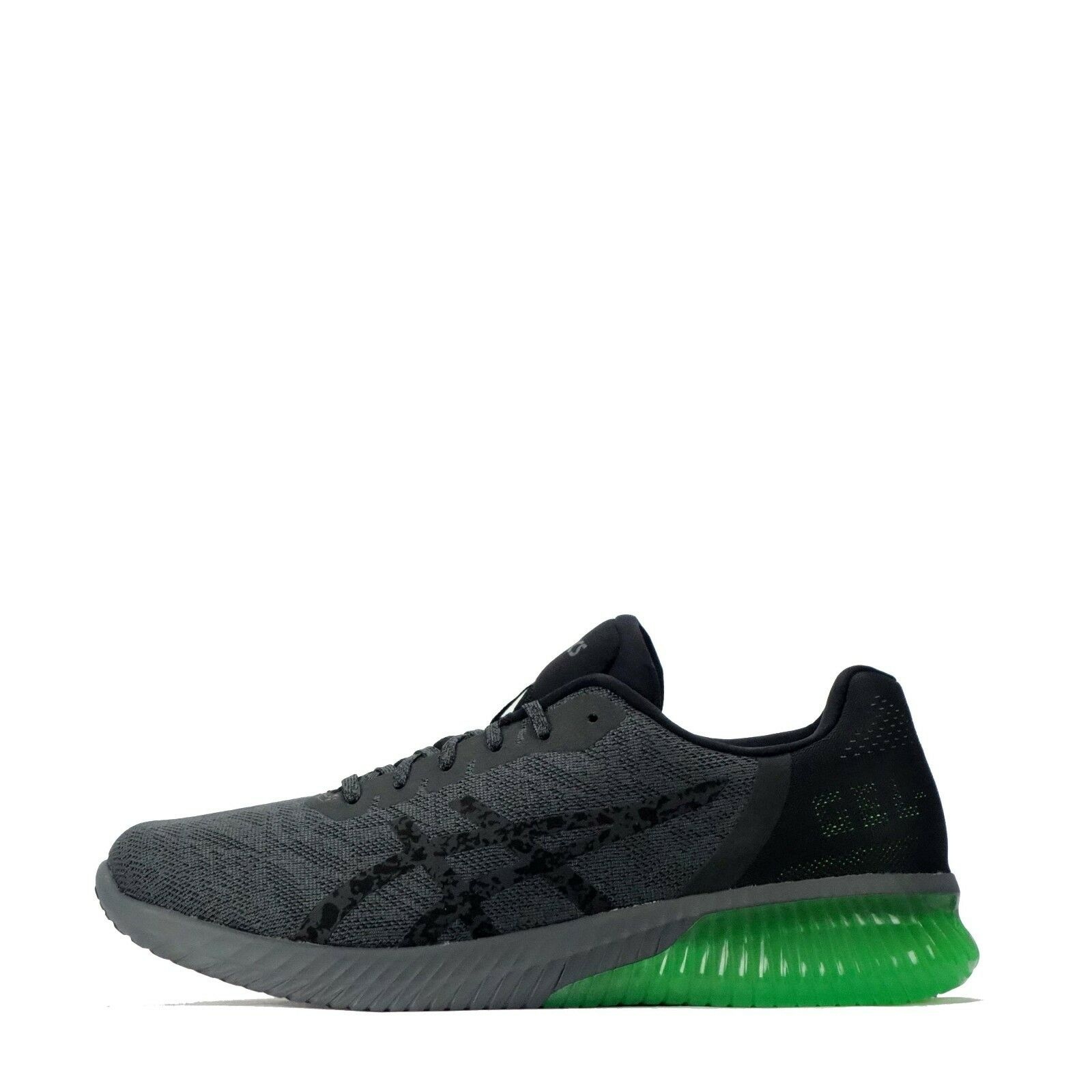 Asics Gel Kenun Men's Casual Sport Running Shoes in Dark Grey/Green The most popular shoes for men and women