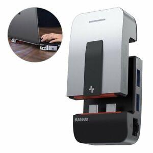 Baseus-Ordinateur-Portable-Support-USB-Hub-eclats-Box-Adaptateur-HDMI-Type-C-pour-MacBook-Pro