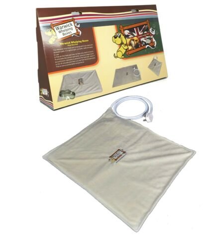 Pet Heat Pad Heated Electric Blanket Bed Mat Puppy by Warwick Whelping Boxes™ UK