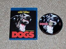 Dogs Blu-ray 2014 Scorpion Releasing David McCallum Burt Brinckerhoff