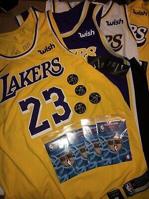 Lebron James 2019-2020 Nike Authentic Los Angeles Lakers jersey Set NWT SZ 52 XL   eBay