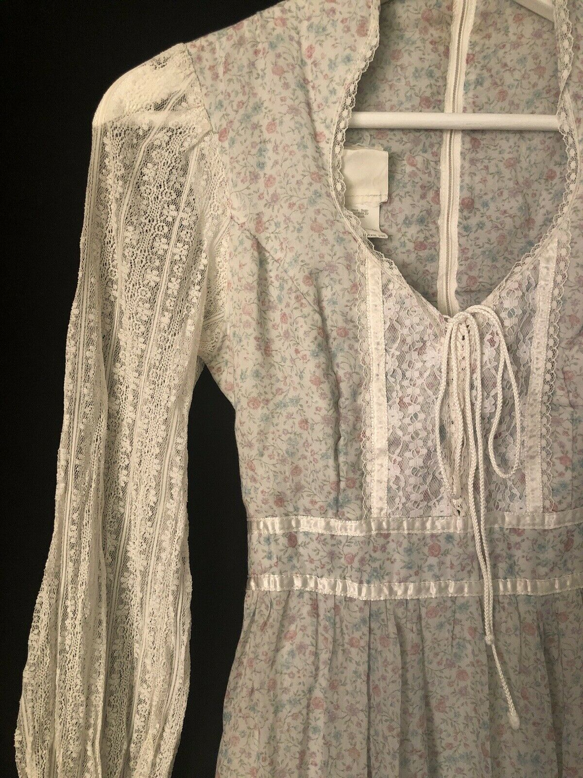 1970s Gunne Sax by Jessica Authentic Victorian Ba… - image 9