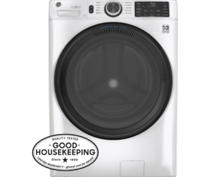 GE 4.5 cu. ft. Capacity Smart Front Load ENERGY STAR® Washer GFW510SCNWW