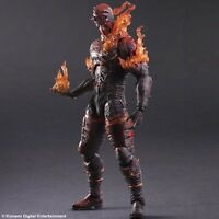 Mgs Metal Gear Solid V Phantom Pain Play Arts Kai Man On Fire Figure Video Game