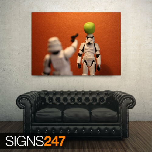 FUNNY POSTER Photo Poster Print Art A0 A1 A2 A3 A4 STORMTROOPERS FUNNY AD468