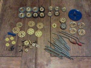 meccano-gears-pulleys-axle-rods-winders-brass-bits-joblot