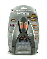 Monster Cable HDX HDMI 1000 8 FT THX Certified 17.8 Ultra High Speed 1080p 3D