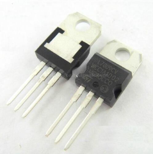 50PCS IC L7809CV L7809 7809 TO-220 Voltage Regulator 9V ST NEW