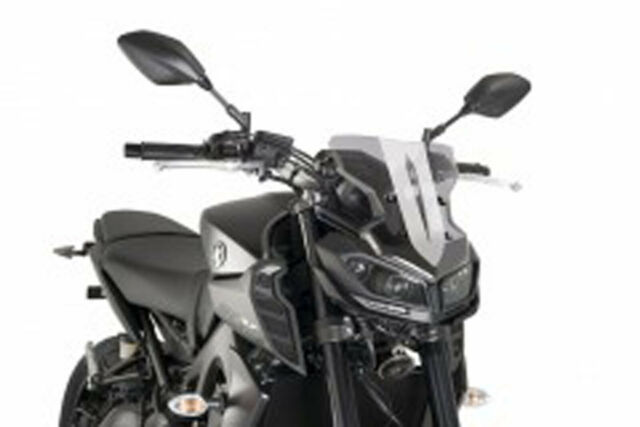 PUIG WINDSHIELD NAKED N.G. SPORT YAMAHA MT-09 SP 18-20 LIGHT SMOKE